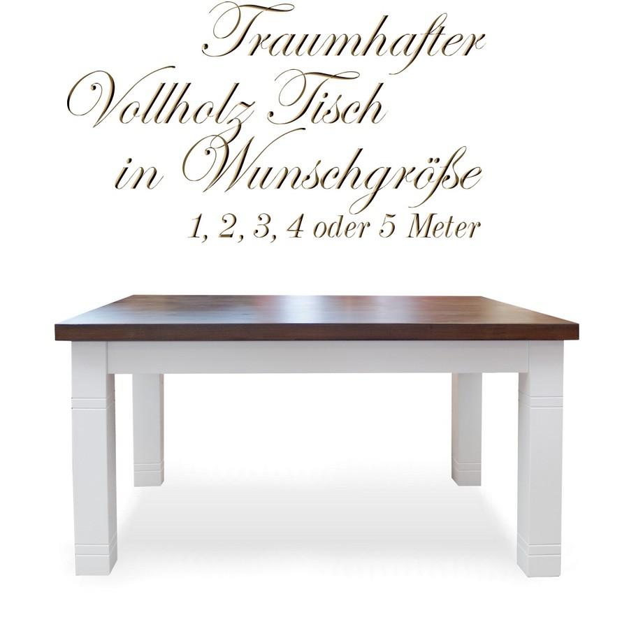Vollholz Tisch nach Masz 1-5 Meter moeglich