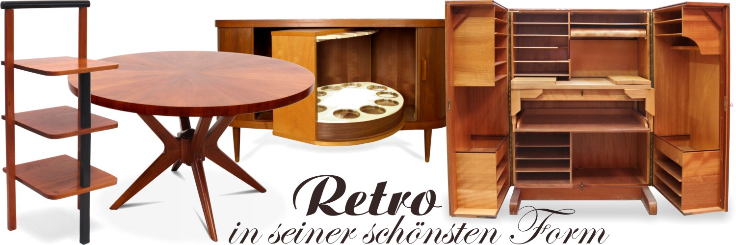 retro interior archive goethes galerie. Black Bedroom Furniture Sets. Home Design Ideas