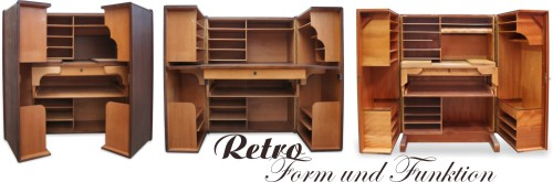 Büromöbel design klassiker  Hausbüro Retro ... praktischer Designklassiker | GOETHEs GALERIE