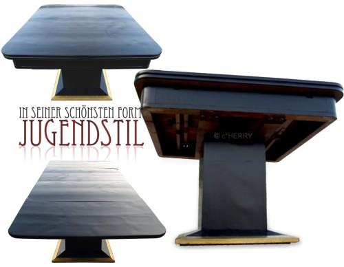Jugendstil Tisch ausziehbar