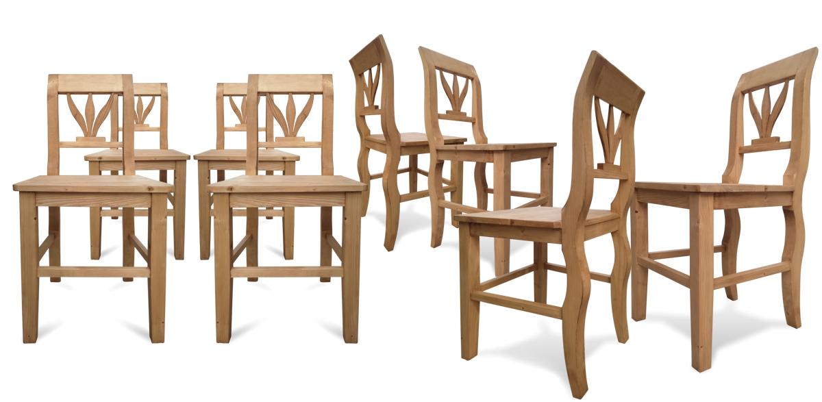 Stühle Tischler Vollholz